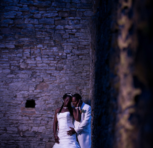 Dudley Castle Ruins Wedding