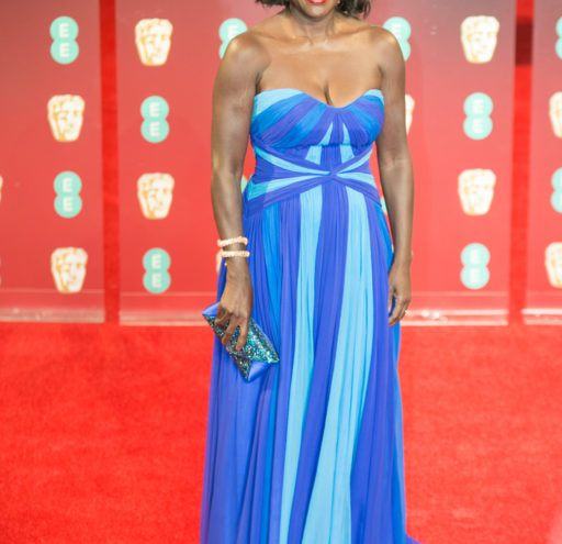 Viola Davis BAFTA Red Carpet