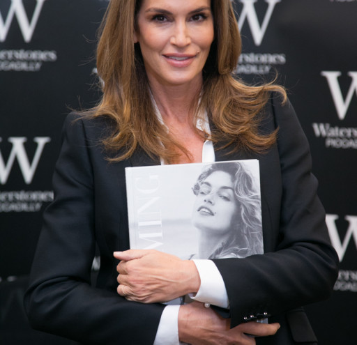 Cindy Crawford Book Launch