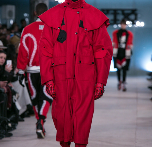 KTZ present their AW16 catwalk collection at London Collection's: Men
