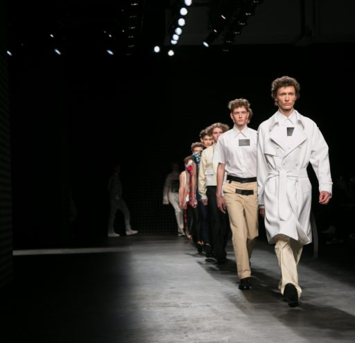 Xander Zhou present their SS16 designs at London Collections Men