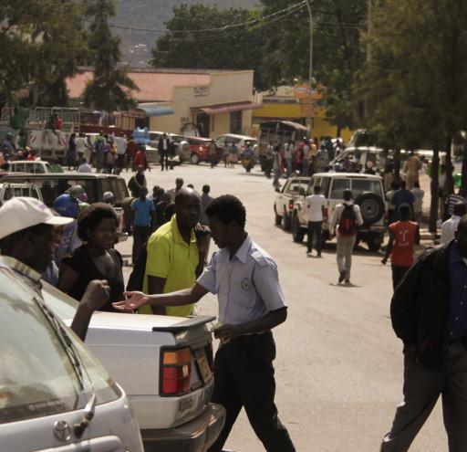 Rwandan Market