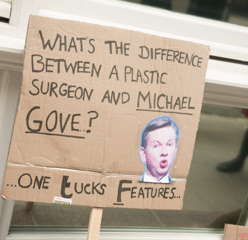 Signs - Michael Gove