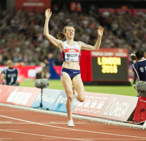 Laura Muir ibreaks British 1500m record