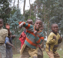 Local Children - Rwanda Mountains
