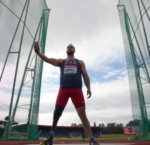 Jeremy Campbell discus