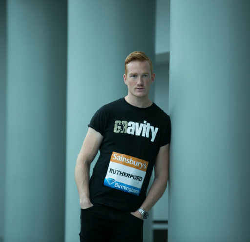 Greg Rutherford portrait