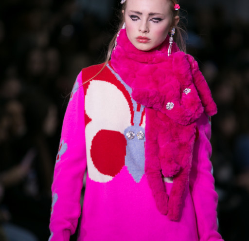 The Ryan Lo catwalk collection at LFW AW16