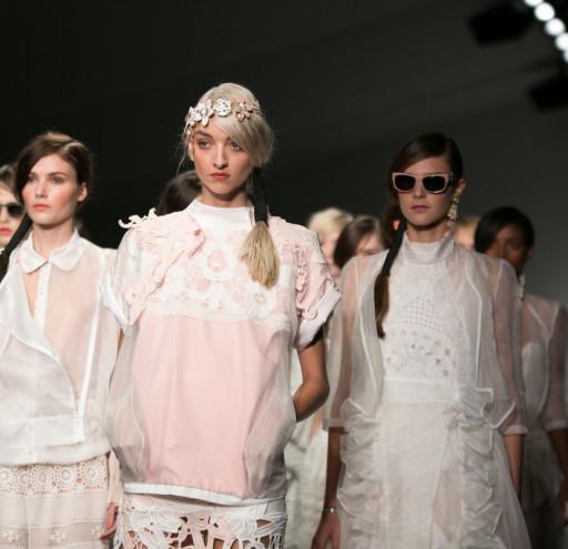 Bora Aksu Catwalk at London Fashion Week SS15