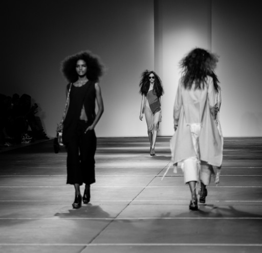 Marques Almeida catwalk show at London Fashion Week for SS15