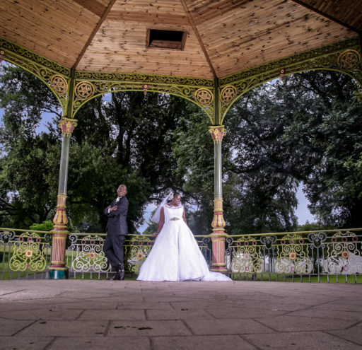 Couples Portrait Bandstand