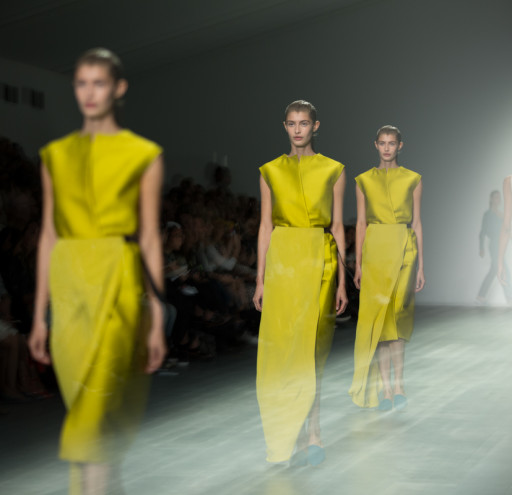 Designer Catwalks of London Fashion Week at soemrset house