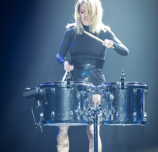Ellie Goulding Performs at The Barclaycard Arena for the Birmingham leg of her UK Tour.