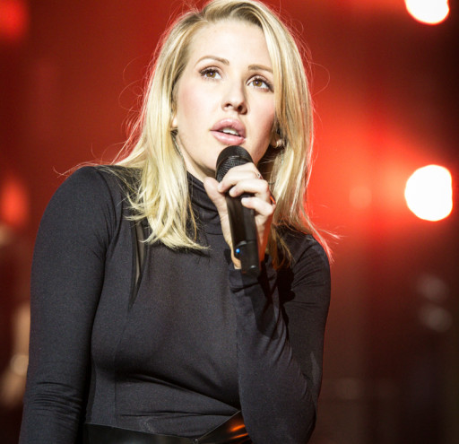 Ellie Goulding performs on the Birmingham leg of her UK tour at the Barclaycard Arena in Birmingham.