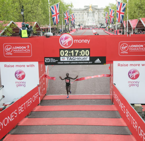 Mary Keitany wins the VMLM 2017