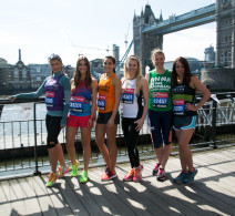 London Marathon -  Celebrities