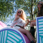 Crowds enjoying the Parklife 2015 Festival held annually at Heaton Park in Manchester
