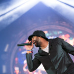 Rudimental Performing Live on stage at Parklife 2015 Festival in Heaton Park, Manchester, UK