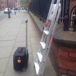 ladder press photography