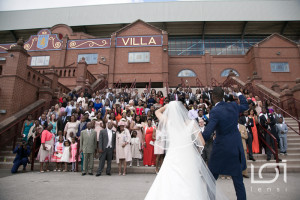Your Wedding Aston Villa Group Shot