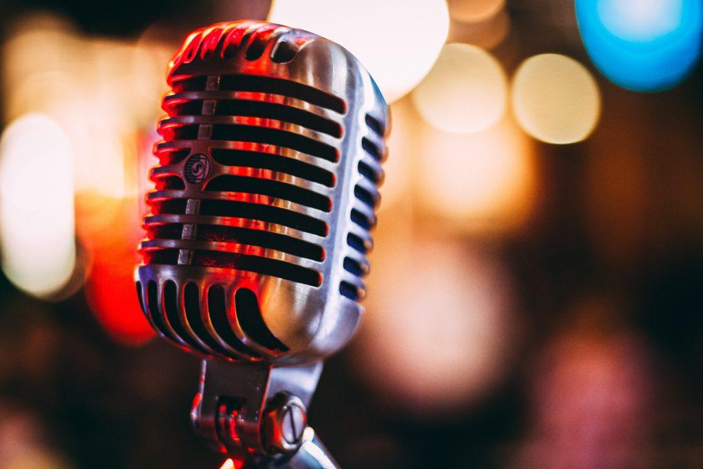 Microphone by Israel-Palacio
