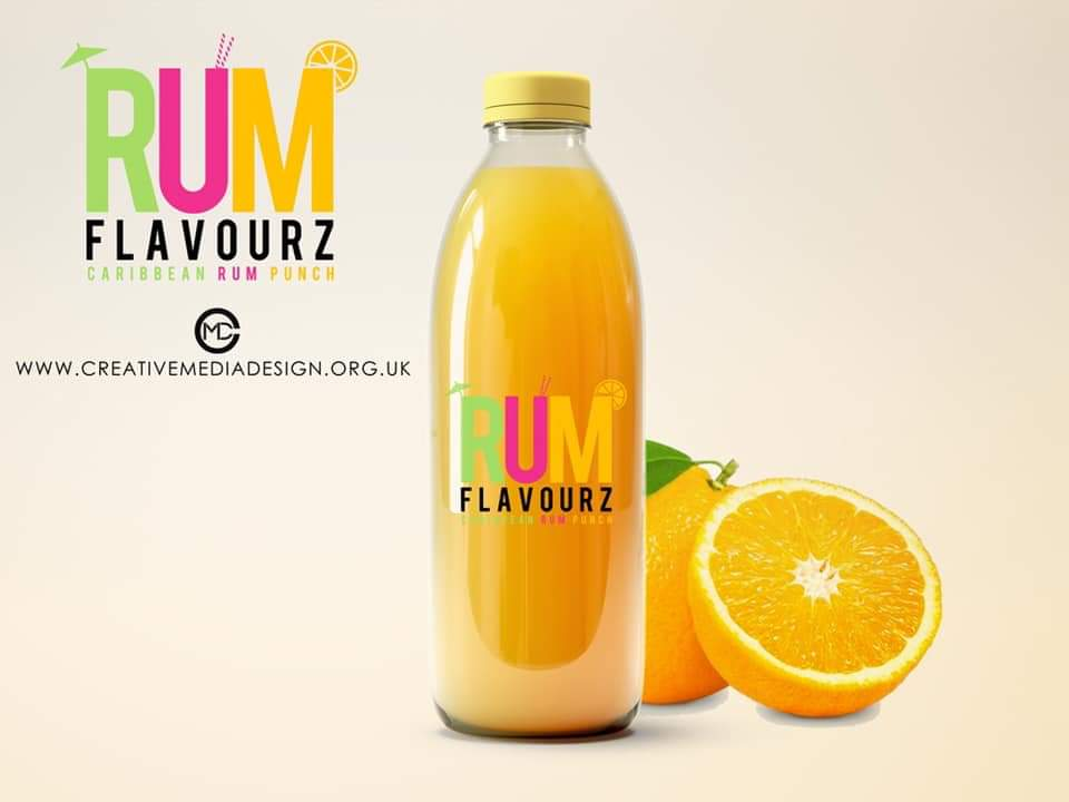 creative media design, branding, logo design, rum flavours