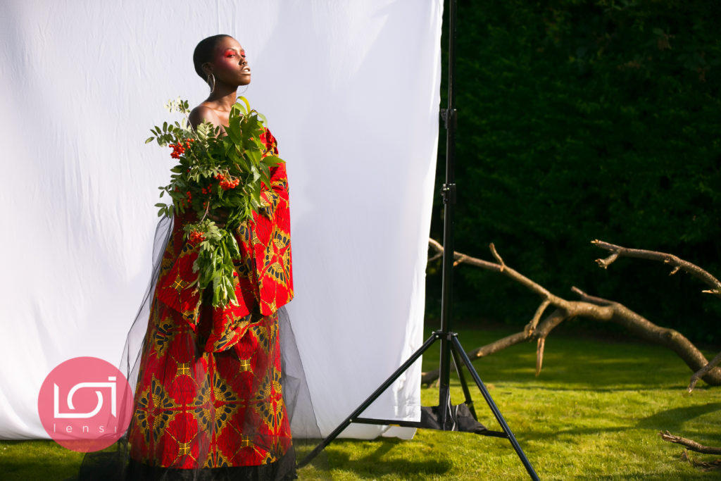 #Blackcreatives #ankara, ankara travelling dress, ukbft, travelling dress, travelling dress project, female photographer, fashion photography, black model, bald model, fashion photoshoot, african fashion, african print, travelling dress project, the travelling dress