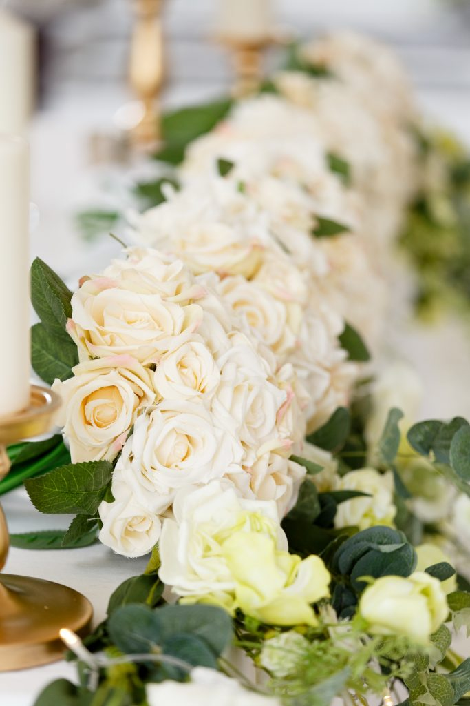the wedding of Lensi Photography, faux flowers, fake flowers, home bargains flowers, wedding top table, wedding tips, wedding saving, wedding planning, bride tips, photographer tips, wedding photographer