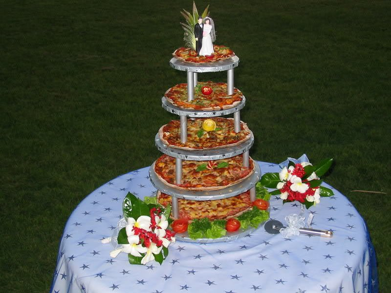 Pizza Tower, Wedding Cake Alternatives