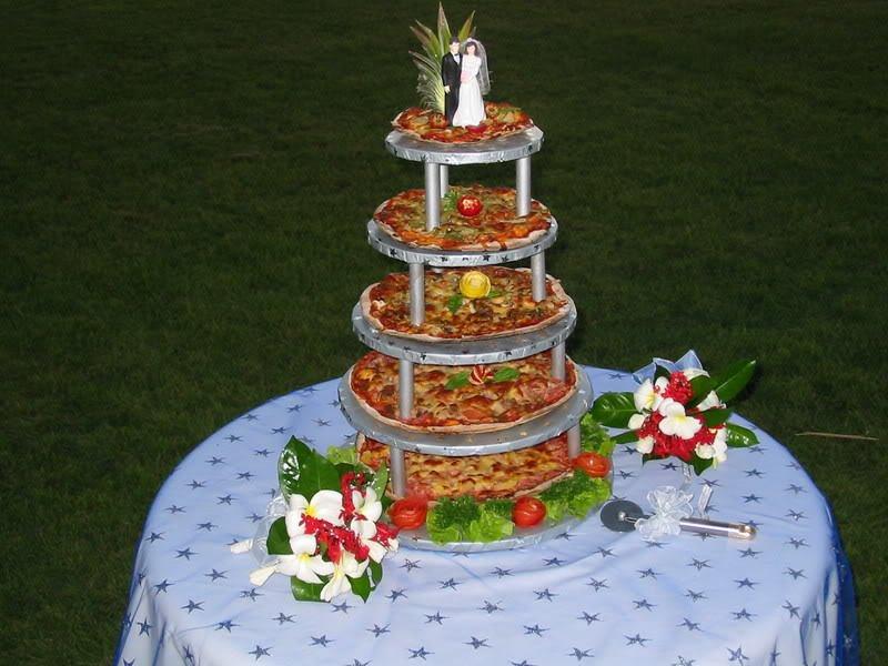 Pizza Tower, Wedding Cake Alternatives