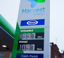 Signs - Low petrol prices