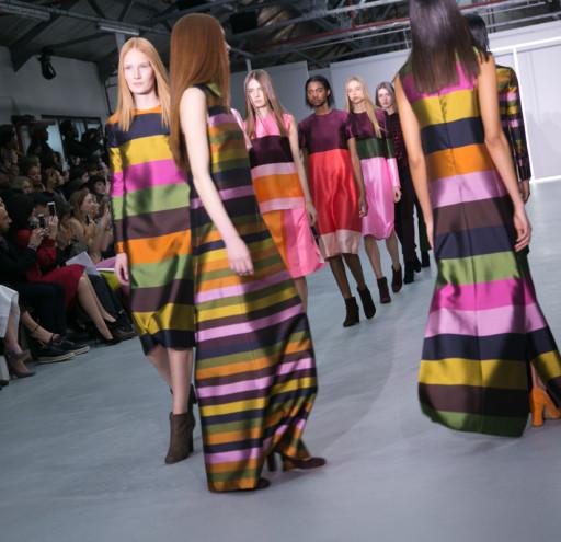 Models presenting the Jasper Conron