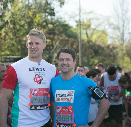 Mark Owen at London Marathon
