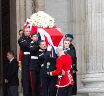 Lady Thatchers Funeral