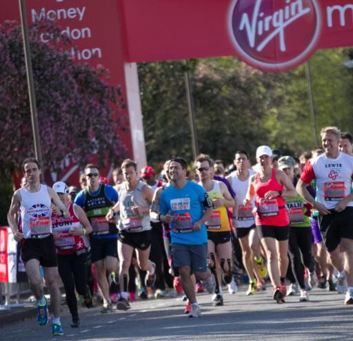 Start Line London Marathon