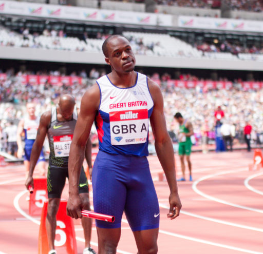 James Dasolu 4x100 relay