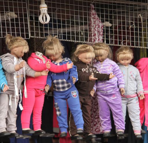 Dolls in Marrakech