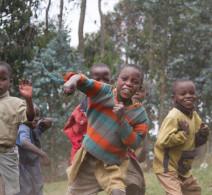 Local Children - Rwanda Mountains