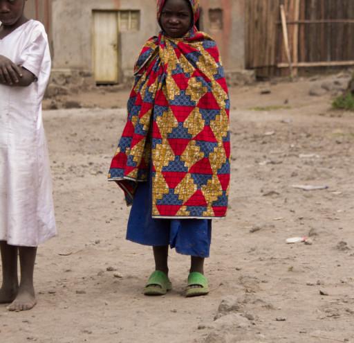 Child in Rwandan Mountains