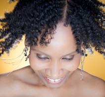 Natural Hair Portrait