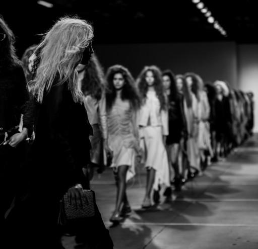 Marques Almeida catwalk show at London Fashion Week for SS15