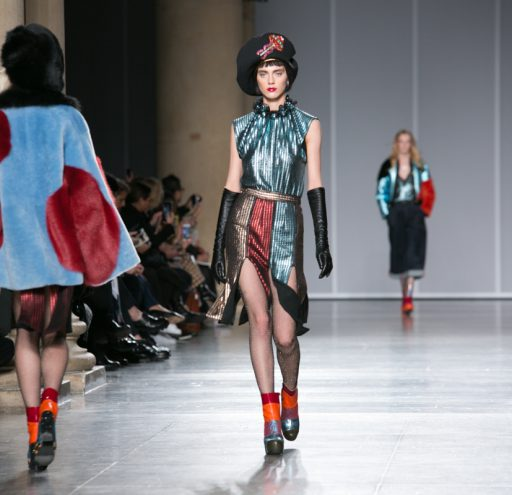 The House of Holland catwalk collection at LFW AW16