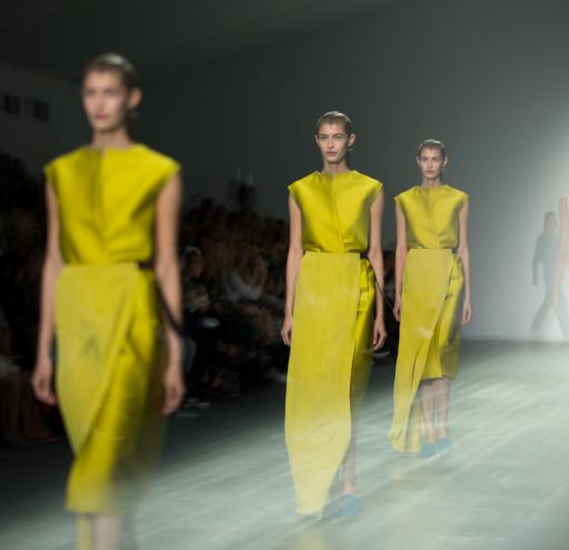 Designer Catwalks of London Fashion Week at soemrset house