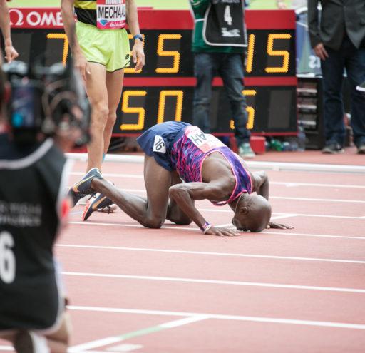 Mo Farah Wins 3000m