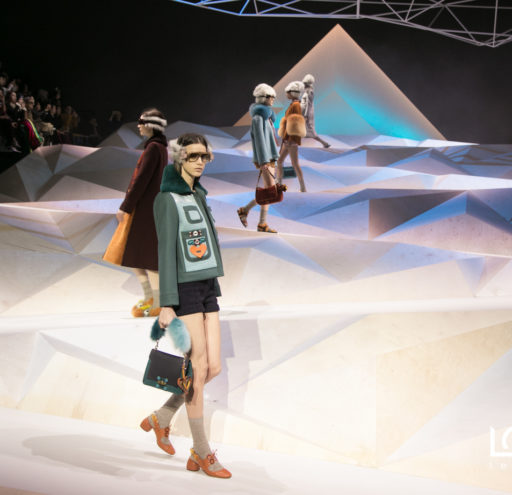 Anya Hindmarch presents her AW17 Collection at London Fashion Week, in London UK, 18/02/2017