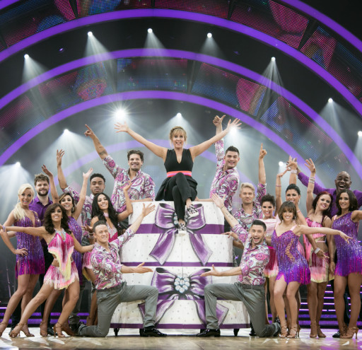 Full Line Up Strictly 2016