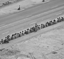 Indian Workers on a break
