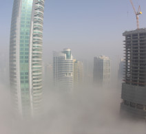 Fog Above Skyline